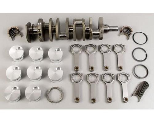 Rotating Assembly - Mopar 440 Forged Crank, 500 cid, 4.375 x 4.150, SRP Domed Pistons 12-1
