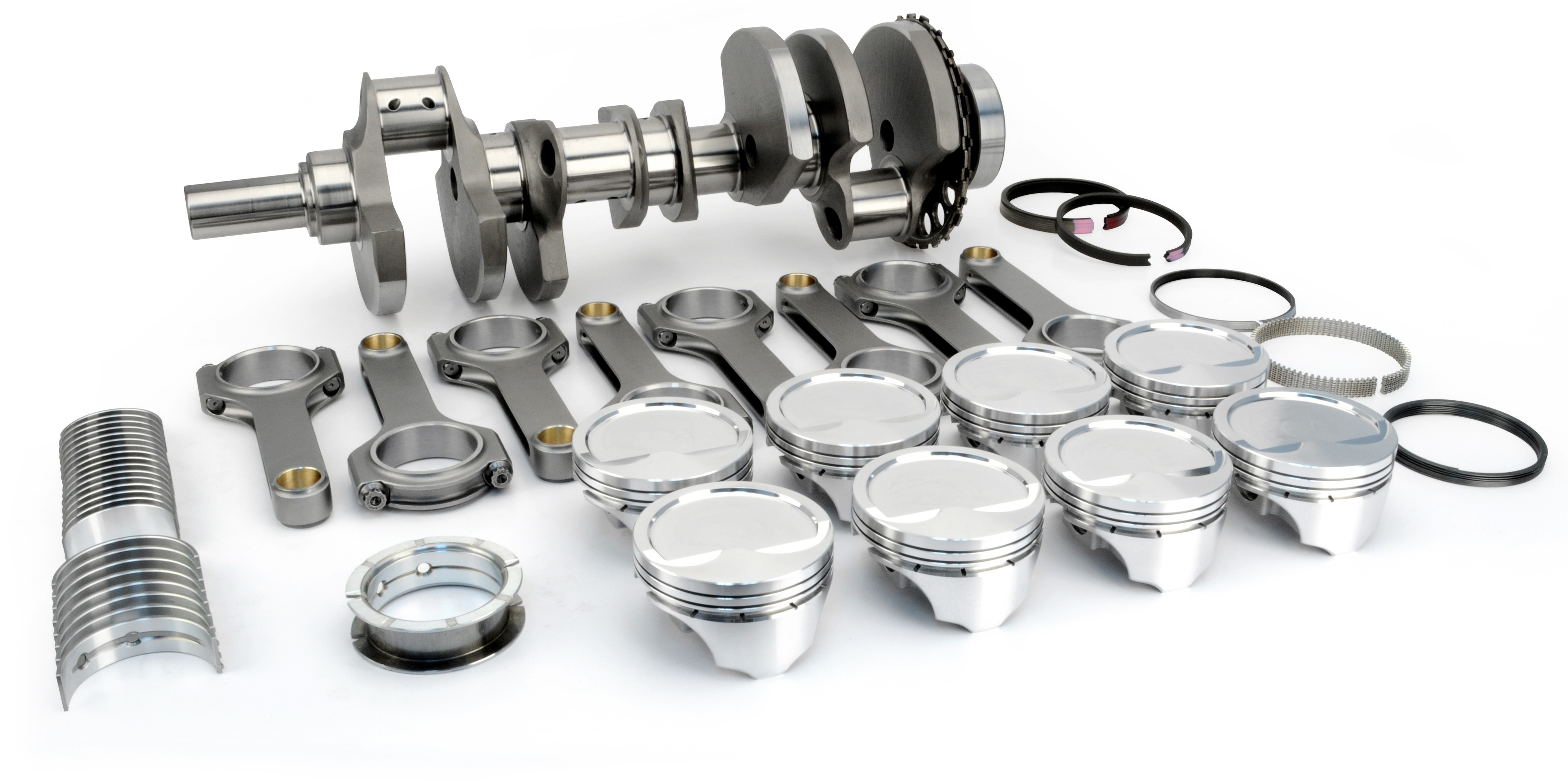 "Lunati LS 416 Boosted Rotating Assembly - 4.000"" Crank, 4.070"" CP-Carrillo Pistons, 9.0:1 Comp, Precision Balanced"