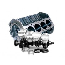 Block & Rotating Assem-Lunati-BALANCED-565, 18°, Nitrous, Dart, H-Beam Rod, Diamond Pistons
