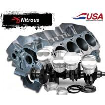Block & Lunati Rotating Assem-XD Turbo-Balanced-Ford 363, Dart Block, Lunati Crank, XD rod CP piston