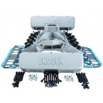 Brodix BBC Oval Port Top End Combo Kits