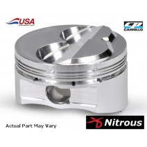CP XD NO2 SB Ford Piston, 9cc Dome - 347cid, 4.125 bore w/3.250 stroke, 5.400in rod, 12.2-1