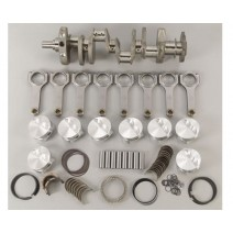 Rotating Assembly-BALANCED- LT1 SBC 396 cid, 3.875 x4.030, Forged Crank, Stroker H-beam, Dish 11.8-1