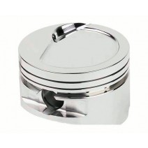 SRP BBF Piston, -28cc Dish - 512cid, 4.440 bore w/4.140 stroke, 6.700in rod, 9.6-1