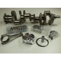SBC Lunati XL Xtreme Lightweight 357c.i. Oval Track Rotating Assembly-Balanced- 4.030x3.500 Forged Crankshaft, Molnar Mid-Weight Rod - CP-Carrillo Piston