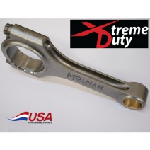 SB Ford XD Xtreme Duty H-Beam Rods - TURBO, Supercharged, NO2, 6.200in, 2.100 journal, .927 pin