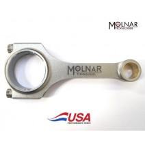 MOLNAR SBC Chevy Lightweight Honda .866 Billet H-Beam 6.000 Connecting Rods