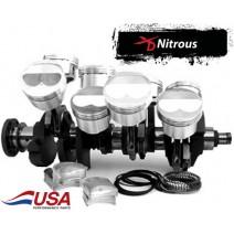 Lunati Rotating Assem-NO2-Balanced-632 American Made, Forged Crank, XD Xtreme Duty rod, Diamond NO2