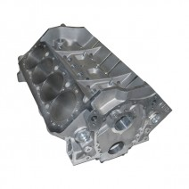 """SBC Aluminum Race Block - 4.125"""" Bore, 350 Mains, Billet Caps, 9.075"""" Deck, 55mm Cam Tunnel, SB2 Lifter Layout, .904"""" Lifter Bores"""