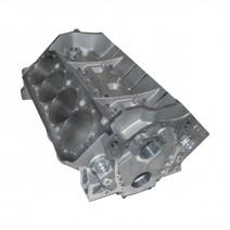 """SBC Aluminum Race Block - 4.125"""" Bore, 350 Mains, Billet Caps, 9.075"""" Deck, 50mm Cam Tunnel, .904"""" Lifter Bores"""