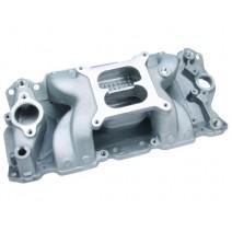 Pro Products Crosswind-Vortec Dual Plane Manifold - SBC 1,500-6,500 rpm