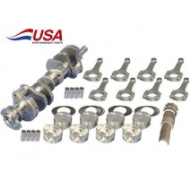 SBC Rotating Assembly 388ci 11:1 Icon Pistons 3.800 Scat Crankshaft Balanced