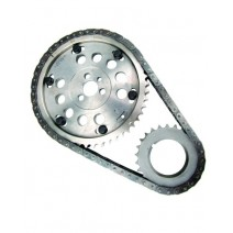 Fast Adjust Billet Professional Timing Chain Line Bore Set - SBC Dart Raised Cam Block, -.010