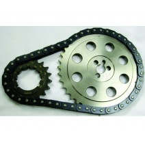 GEN VI BB Chevy Adjustable Billet Timing Chain Set, 1996-early 1999