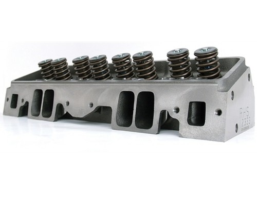 RHS Pro Action Small Block Chevy Cylinder Heads 235cc, Solid