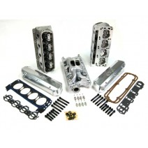 Dart 302/5.0L Ford Iron Head Top End Kits - 180cc