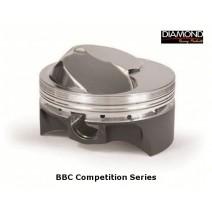 Diamond Big Block Chevy Competition Series Piston, 45cc Dome, 4.250 stroke, 6.385 rod, 1.270 CD