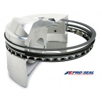 JE Pro Seal Rings - Race Ductile Moly, Gapless 2nd 4.000 bore 1/16x1/16x3/16