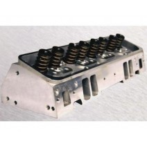 Small Block Chevy Aluminum Cylinder Head Assembly - 200cc, 355-T6, .600 lift Hyd Roller/Flat Tappet,