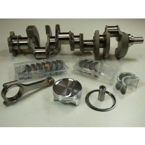 SBC Lunati XL Xtreme Lightweight 357c.i. Oval Track Rotating Assembly-Balanced- 4.030x3.500 Forged Crankshaft, Molnar Mid-Weight Rod - CP-Carrillo Piston