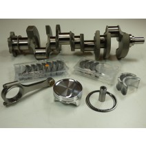 Rotating Assembly-UltraLite Oval Track-SBC 396, LiteWt Small Journal Crank, UltraLite H-beam Stroker Rod, 11.4-1