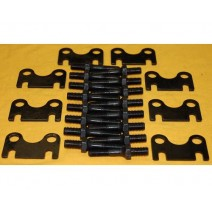 SBC 3/8 Rocker stud & guide plate kit