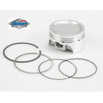 SRP Pro Ford Mod Piston, -17cc Dish - 3.572 bore w/3.543 stroke, 5.933in rod, 9.3-1 Rings Included